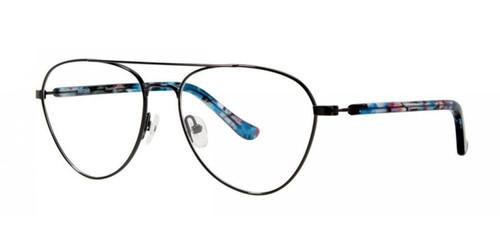 Black Kensie RX Flourish Eyeglasses
