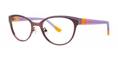 Brown Kensie RX Celebrate Eyeglasses