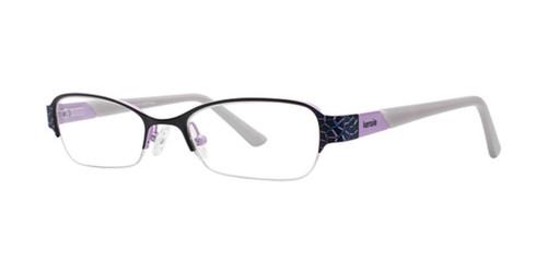 Black Kensie Ambitious Eyeglasses - Teenager