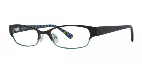 Black Kensie Frantic Eyeglasses