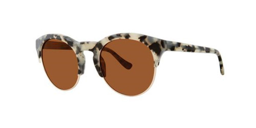 Black Tortoise Kensie Round About Sunglasses