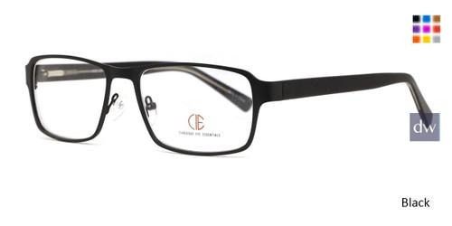Black CIE SEC137 Eyeglasses.