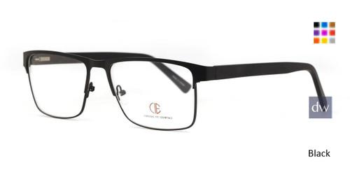 Black CIE SEC138 Eyeglasses.