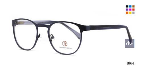 Blue CIE SEC139 Eyeglasses - Teenager.