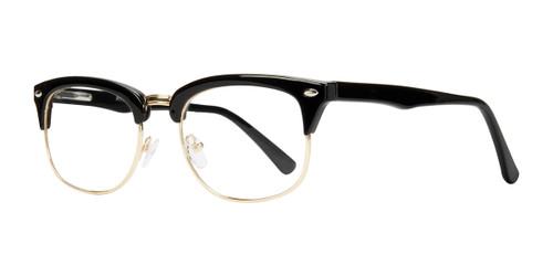 Black Gold Affordable Design Malcolm Eyeglasses
