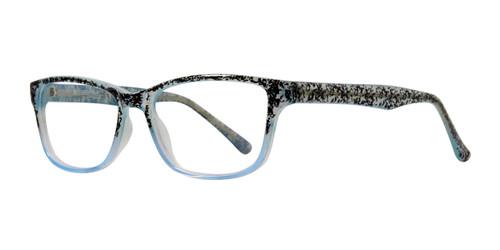 Blue Affordable Design Daisy Eyeglasses