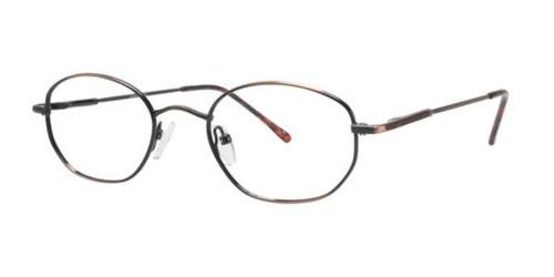 Antique/Brown Gallery G502 Eyeglasses - Teenager