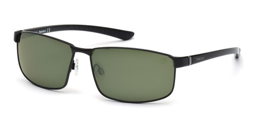 Satin Black Timberland TB9035 Sunglasses.