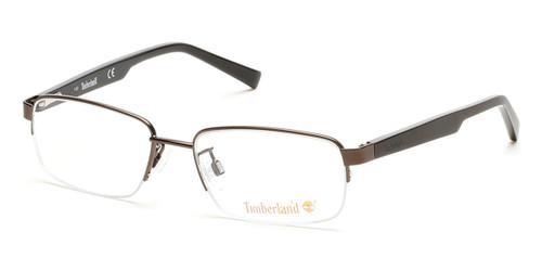 Matte Dark Brown Timberland TB1548 Eyeglasses.