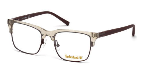 Shiny Beige Timberland TB1601 Eyeglasses.