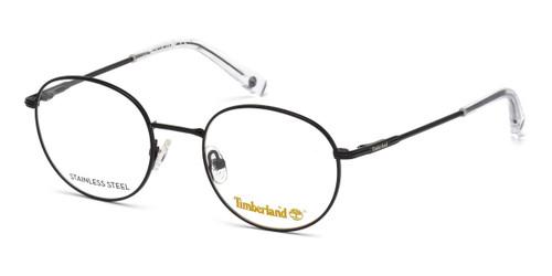 Matte Black Timberland TB1606 Eyeglasses - Teenager.