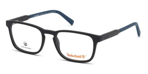 Matte Black Timberland TB1624 Eyeglasses.