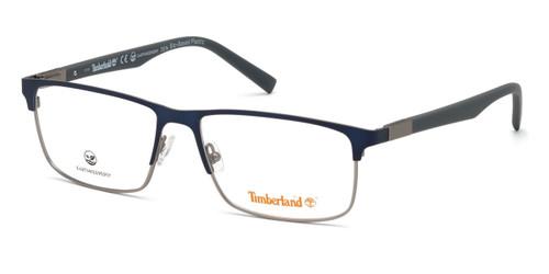 Matte Blue Timberland TB1651 Eyeglasses.
