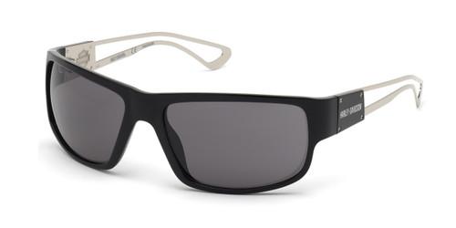 Shiny Black/Smoke HARLEY-DAVIDSON HD1001X Sunglasses.