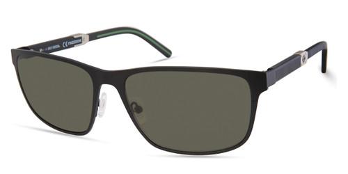 Matte Black/Green HARLEY-DAVIDSON HD1002X Sunglasses.