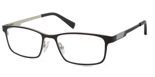 Matte Black HARLEY-DAVIDSON HD0140T Eyeglasses - Teenager.