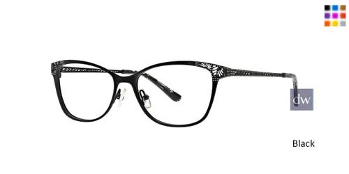 Black Xoxo Caspar Eyeglasses.