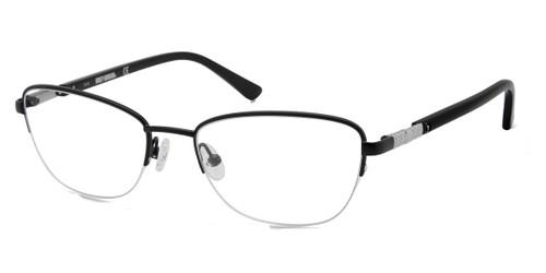 Matte Black HARLEY-DAVIDSON HD0550 Eyeglasses.