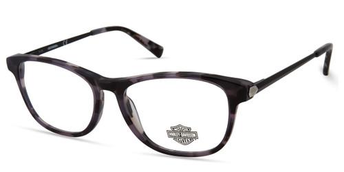 Black HARLEY-DAVIDSON HD0551 Eyeglasses.