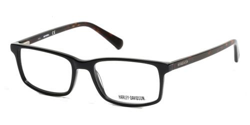 Matte Black HARLEY-DAVIDSON HD0756 Eyeglasses.