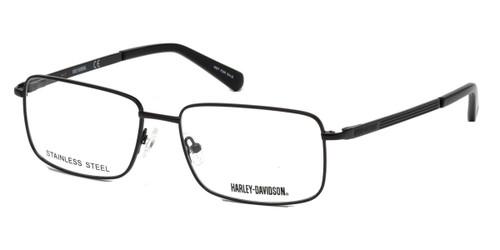 Matte Black HARLEY-DAVIDSON HD0763 Eyeglasses.