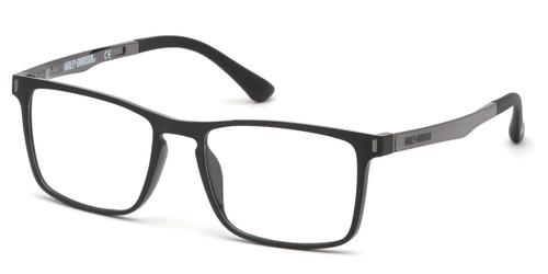 Shiny Black HARLEY DAVIDSON HD0794 Eyeglasses.
