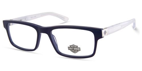 Shiny Blue HARLEY DAVIDSON HD9004 Eyeglasses.