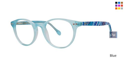 Blue Lilly Pulitzer GIRLS RX Carlton Mini Eyeglasses