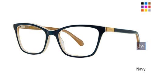 Navy Lilly Pulitzer RX Tabbi Eyeglasses - Teenager