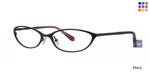 Navy Lilly Pulitzer RX Connie Eyeglasses