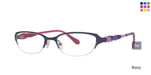Navy Lilly Pulitzer RX Jade Eyeglasses
