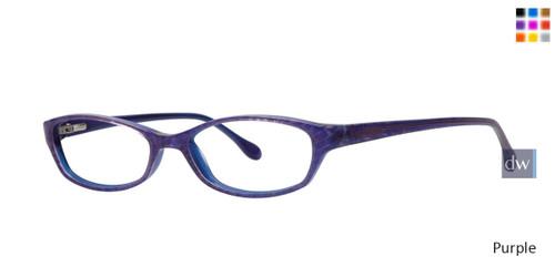 Purple Lilly Pulitzer RX Annie Eyeglasses