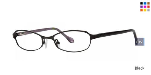 Black Lilly Pulitzer RX Darcia Eyeglasses - Teenager