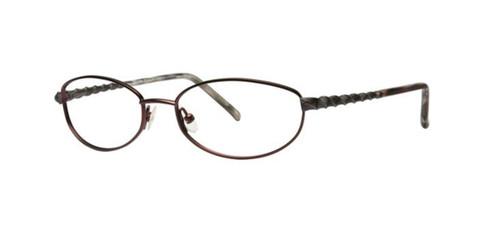 Burgundy Dana Buchman Magnolia Eyeglasses.