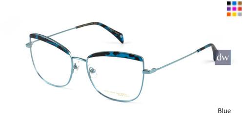 Blue William Morris Black Label BLOLIVIA Eyeglasses