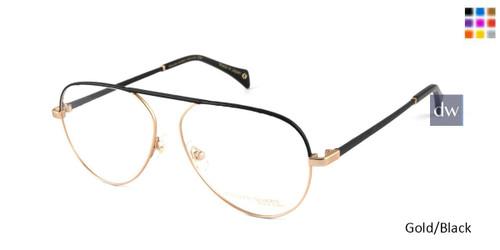 Gold/Black William Morris Black Label BLDITA Eyeglasses