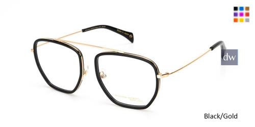 Black/Gold William Morris Black Label BLJAMES Eyeglasses
