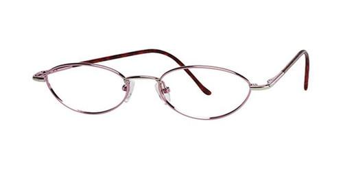 Silver Pink Parade 1507 Eyeglasses - Teenager.