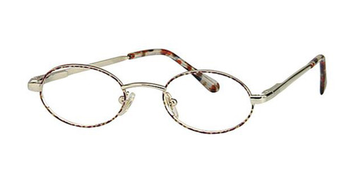 Demi Amber Gold Parade 1458 Eyeglasses.