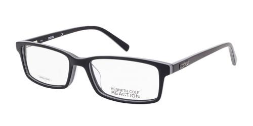Black/White Kenneth Cole Reaction KC0749 Eyeglasses.