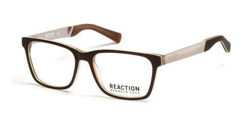 Dark Brown Kenneth Cole Reaction KC0790 Eyeglasses.