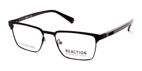 Matte Black Kenneth Cole Reaction KC0797 Eyeglasses.