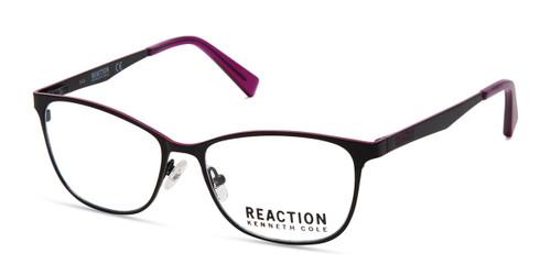 Matte Black Kenneth Cole Reaction KC0811 Eyeglasses.