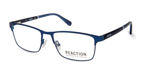 Matte Blue Kenneth Cole Reaction KC0823 Eyeglasses.