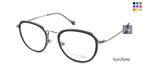 Gun/Grey William Morris London WM50101 Eyeglasses.