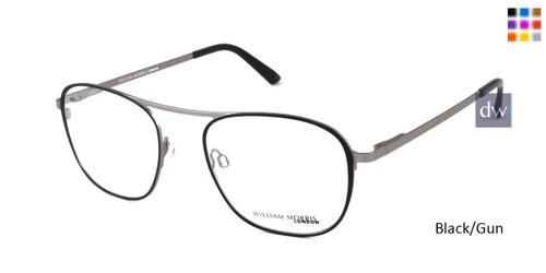 Black/Gun William Morris London WM50133 Eyeglasses.