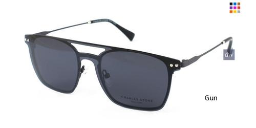 Gun William Morris Charles Stone NY Sun Clip 30037 Sunglasses