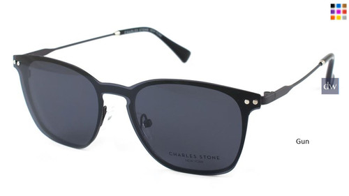 Gun William Morris Charles Stone NY Sun Clip 30038 Sunglasses