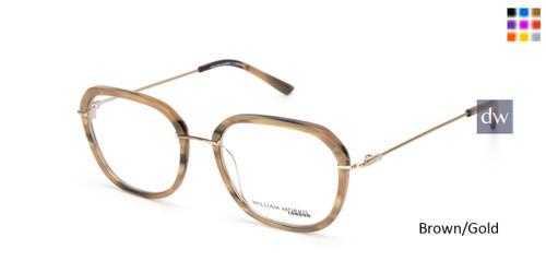 Brown/Gold William Morris London WM50142 Eyeglasses.
