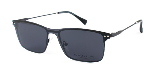 Gun William Morris Charles Stone NY Sun Clip 30039 Sunglasses